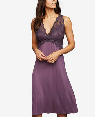 A Pea in the Pod Nursing Lace Nightgown