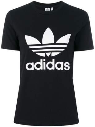 adidas Trefoil print T-shirt