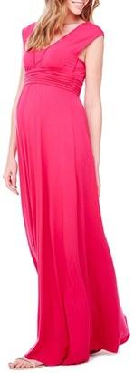 Women's Ingrid & Isabel Empire Waist Maternity Maxi Dress $118 thestylecure.com