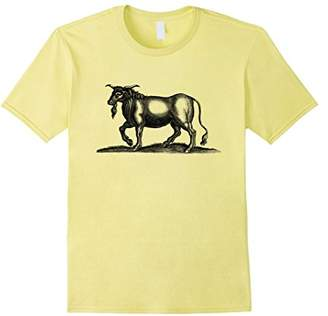 Strange Hoofed Animal Print T-Shirt