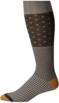 Etro Herringbone Socks Men's Crew Cut Socks Shoes