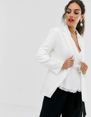 Outrageous Fortune tailored blazer in white