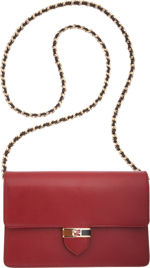Fendi Mini Clutch with Chain Strap