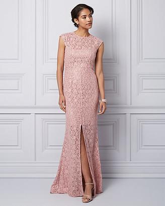 Le Château Sequin & Lace Illusion Gown