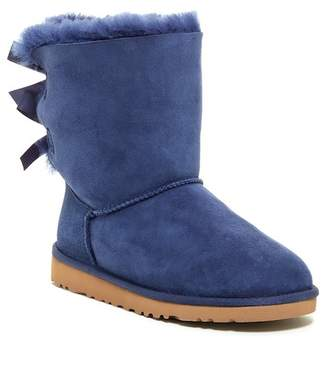 UGG Genuine Sheepskin Bailey Bow Boot (Toddler)
