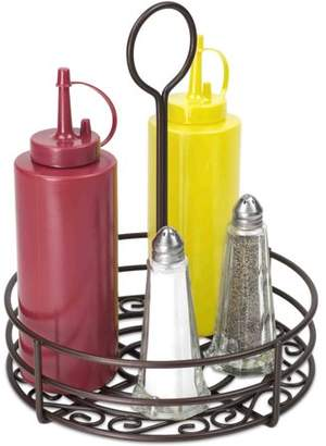 Generic Home Basics Condiment Caddy, Bronze