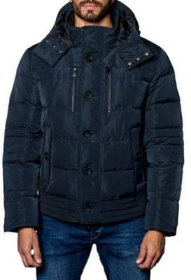 Jared Lang Alaska Hooded Down Puffer Jacket