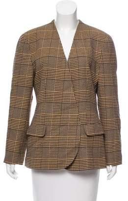 Giorgio Armani Tailored Wool Blazer