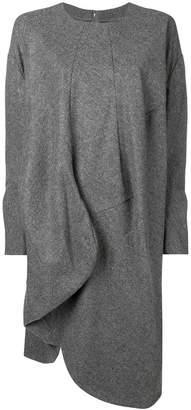 Comme des Garcons asymmetric sweater dress