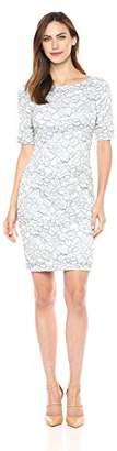 Eliza J Women's Elbow Sleeve Lace Sheath Dress