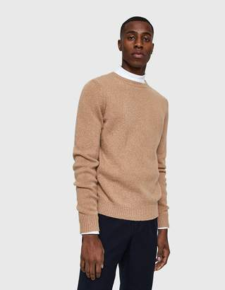 A.P.C. Wind Sweater in Camel