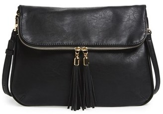 Bp. Foldover Crossbody Bag - Black $39 thestylecure.com