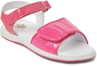 Naturino W6yz By Toddler Girls) Fuchsia Susie Sequin Flat Sandals