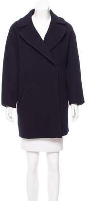 Cédric Charlier Double-Breasted Wool Coat