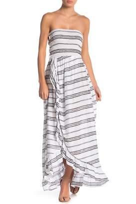 Tiare Hawaii Eri Strapless Maxi Dress