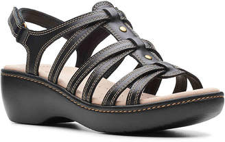 Clarks Delana Curve Wedge Sandal - Women's