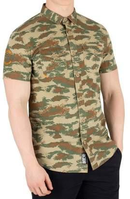 Men's Rookie Parachute Lite Shortsleeved Shirt, Green