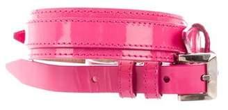Burberry Patent Leather Waist Belt