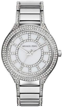 Michael Kors MK3311 Women's Kerry Crystal MOP Dial Stainless Steel Watch