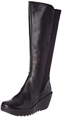 Fly London Women's YEVE779FLY Boots, (Black), 39 EU