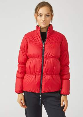Emporio Armani Padded Jacket In Lightweight Nylon
