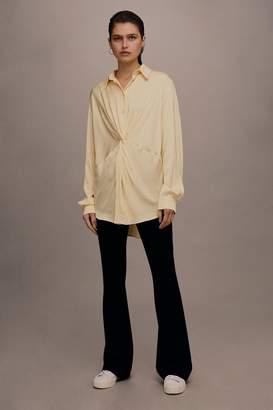 Topshop **Twist Front Shirt by Boutique