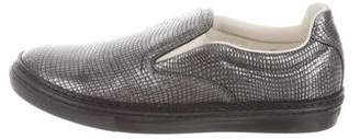 Maison Margiela Embossed Slip-On Sneakers w/ Tags