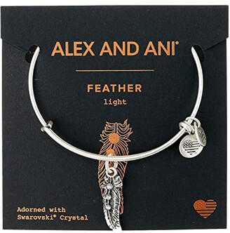 Alex and Ani Path of Symbols - Feather II Bangle