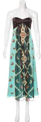 Laundry by Shelli Segal Silk Printed Dress