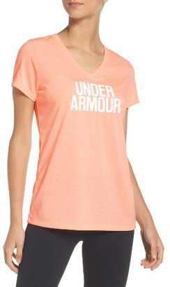 Women's Under Armour Threadborne Tee $32.99 thestylecure.com