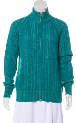 Loro Piana Cashmere Cable Knit Cardigan
