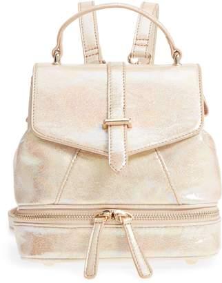 MALIBU SKYE Mailbu Skye Oil Slick Faux Leather Backpack