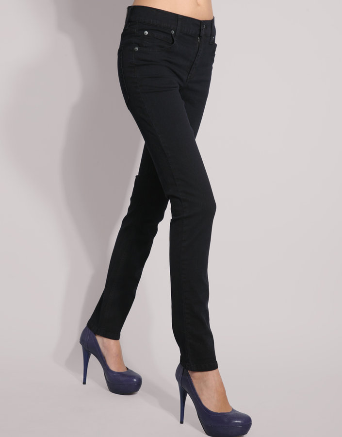 Cheap Monday Black Overdyed Tight Skinny Jean