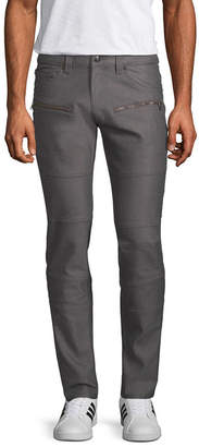 Akademiks Mens Classic Fit Flat Front Pant