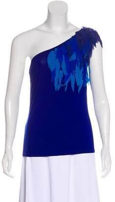 Trina Turk One-Shoulder Sleeveless Top