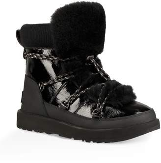 UGG Highland Genuine Shearling Waterproof Bootie