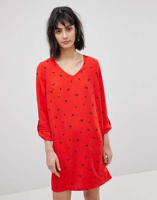 Vero Moda Ditsy Print Shift Dress