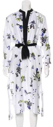 Proenza Schouler Printed Maxi Cover-Up w/ Tags