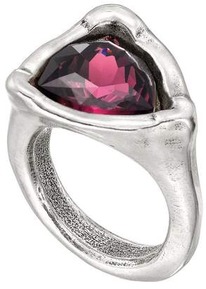 Uno de 50 Star-Trick Ruby Swarovski Crystal Geometric Ring