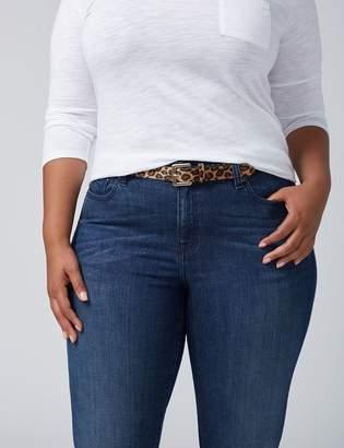 Lane Bryant Leopard Skinny Belt