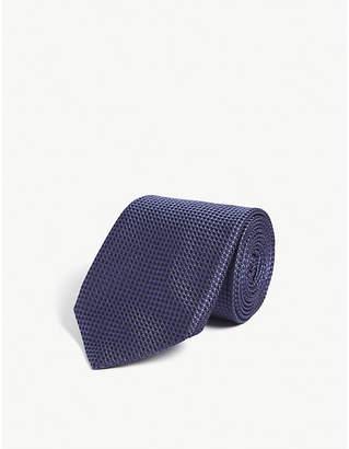 Corneliani Printed silk tie