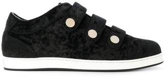 Jimmy Choo NY three-strap sneakers