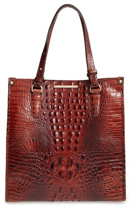Brahmin Melbourne Maeve Leather Tote - Brown $295 thestylecure.com