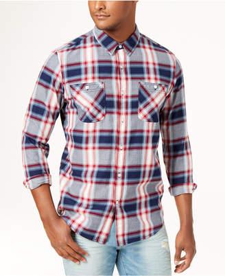 American Rag Men's Nathan Plaid Shirt, Created for Macy's