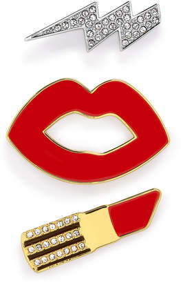 Henri Bendel Electric Kiss Pin Set
