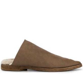 UMA WANG fleece lined slippers