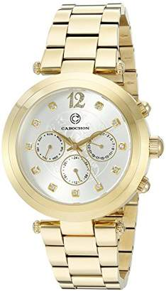 Cabochon Women's 'Papillon' Swiss Quartz Stainless Steel Casual Watch