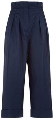 Max Mara Cropped Paperbag Trousers