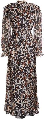 Sonia Rykiel Printed Silk Dress