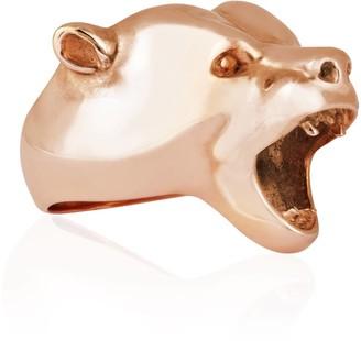 Strange Fruit Bear Ring Rose Gold